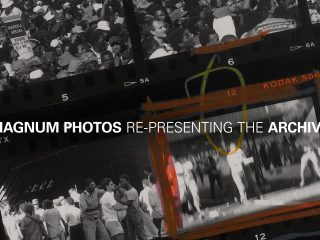 Magnum Print Archive, Austin. The first official visitor.