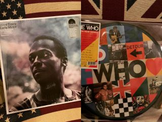 Miles Davis and The Who on Vinyl