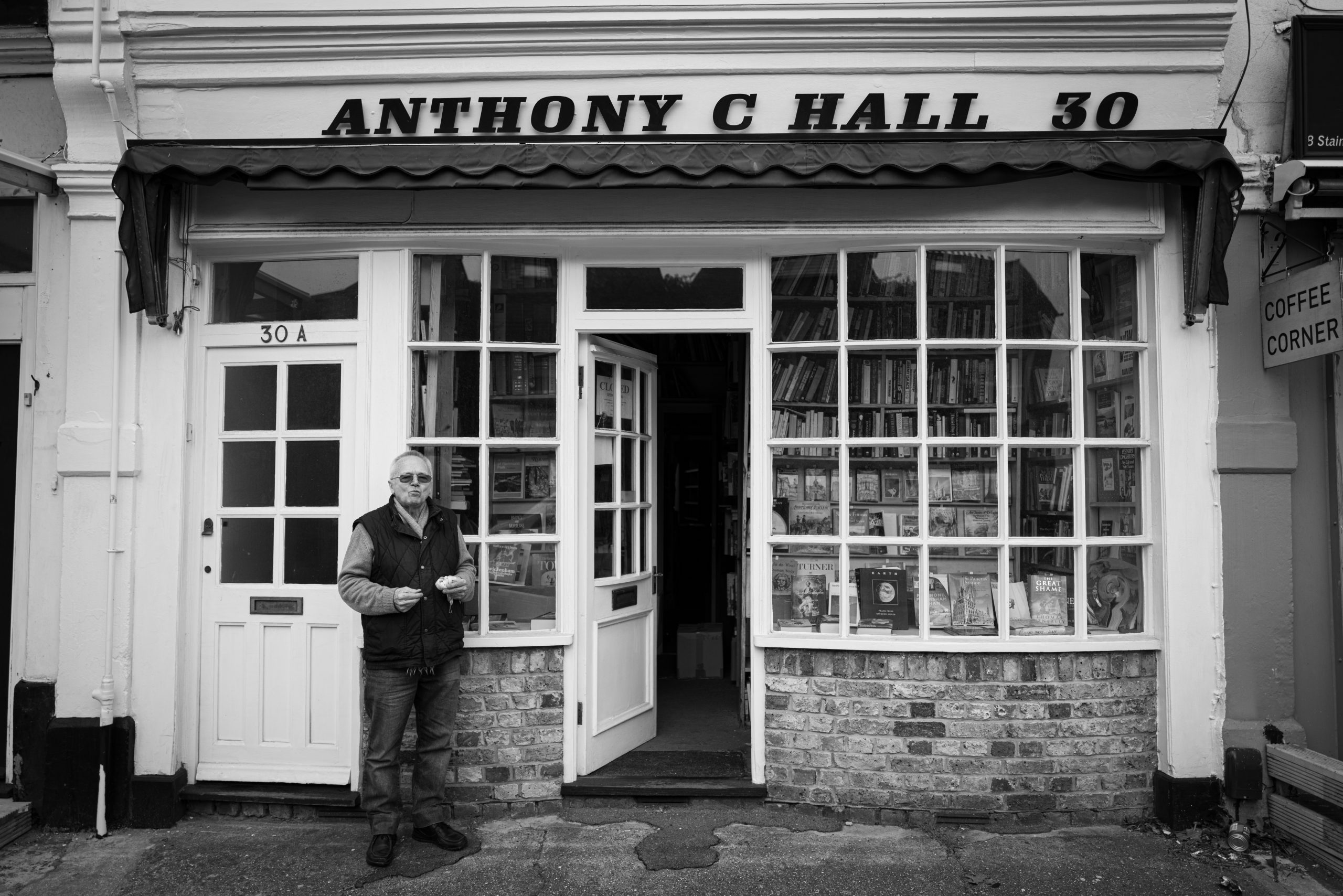 Anthony C Hall, Twickenham Bookseller